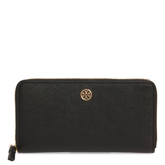 Tory Burch Handbags - SOLD- Tory Burch Robinson zip continental wallet